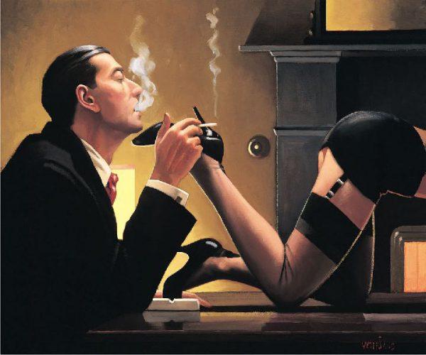 Fetiche - Jack Vettriano e suas pinturas cheias de encontros íntimos