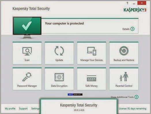 Kaspersky total security crack download   Kaspersky Total