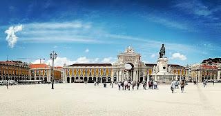 Foto da Praça do Comércio em Lisboa, Fred Oliveira