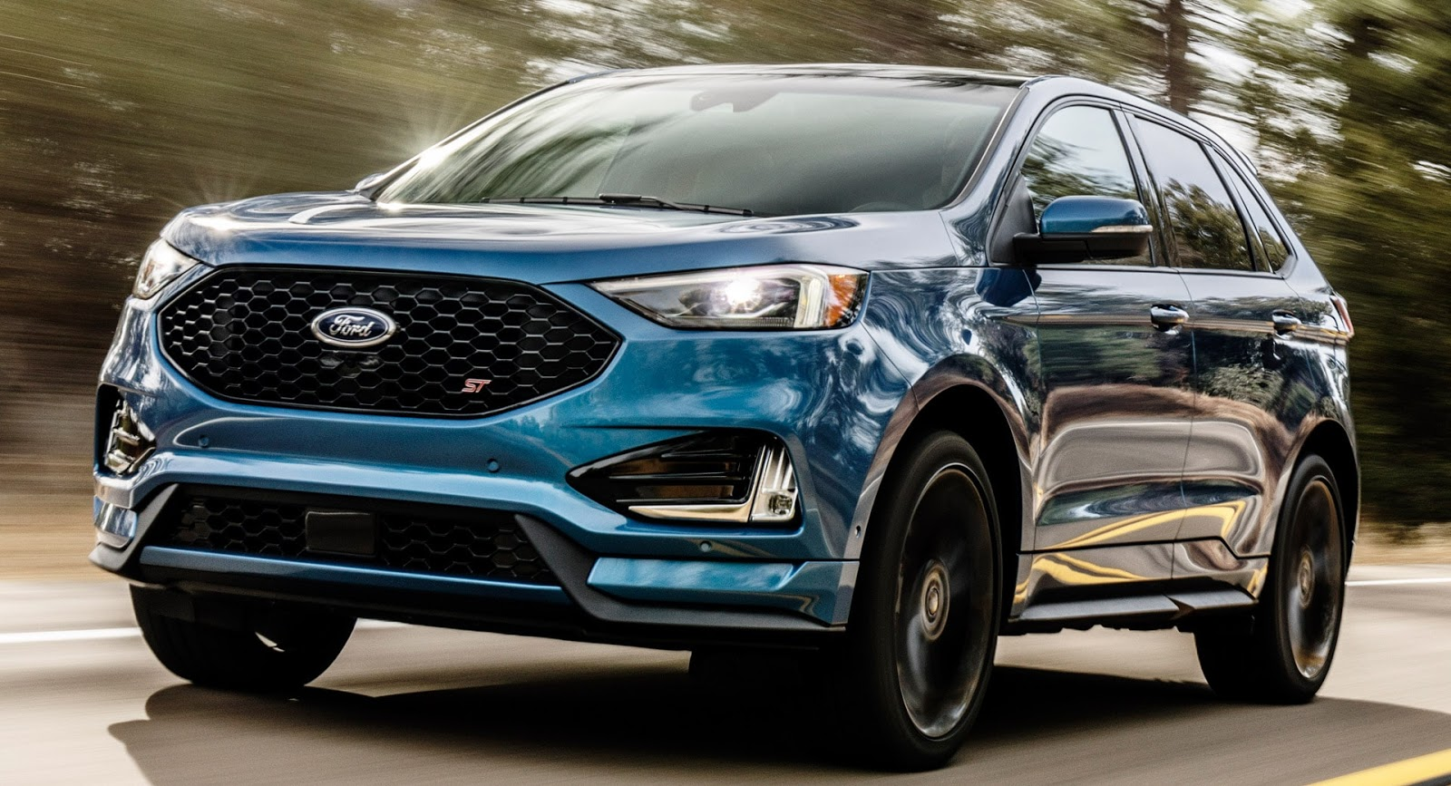 the new 2019 ford edge st is the sharpest yet. Black Bedroom Furniture Sets. Home Design Ideas