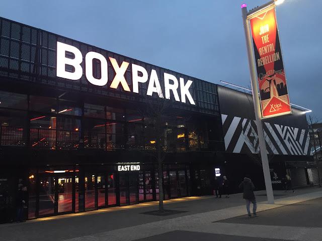 Halal Boxpark Wembley