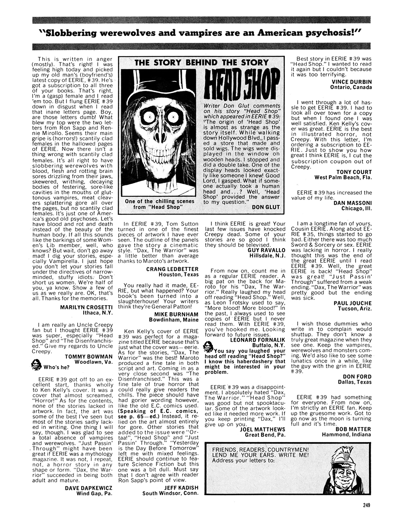 Read online Eerie Archives comic -  Issue # TPB 8 - 250