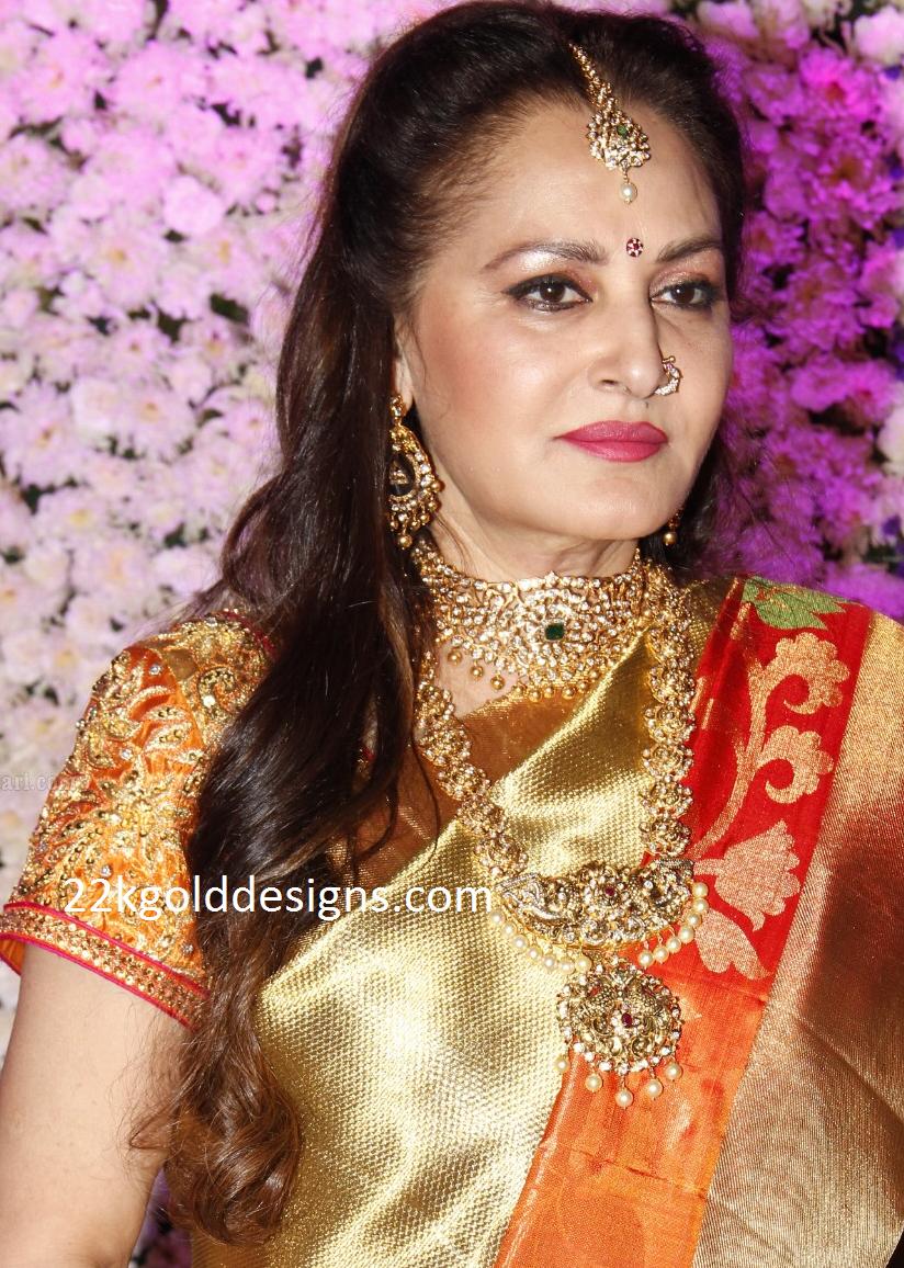 Jayaprada in Polki diamond Jewellery