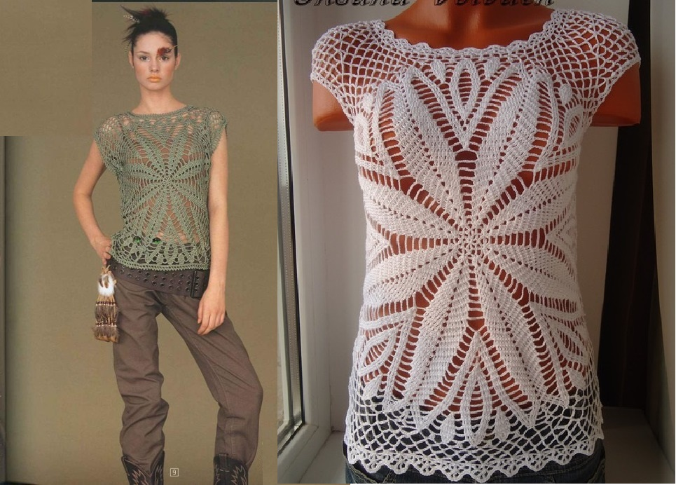 Free Crochet Patterns And Video Tutorials Free Crochet Summer Top