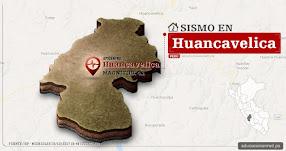 Temblor en Huancavelica de 4.1 Grados (Hoy Miércoles 18 Octubre 2017) Sismo EPICENTRO Huancavelica - IGP - www.igp.gob.pe