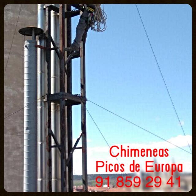 Chimeneas picos de europa chimeneas individuales o - Tubo de chimenea ...