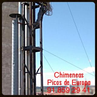 Chimeneas picos de europa chimeneas individuales o - Chimeneas picos de europa ...