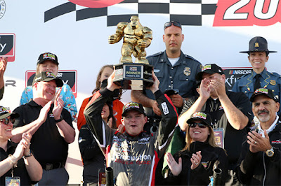 Cole Custer was the golden winner at Dover International Speedway