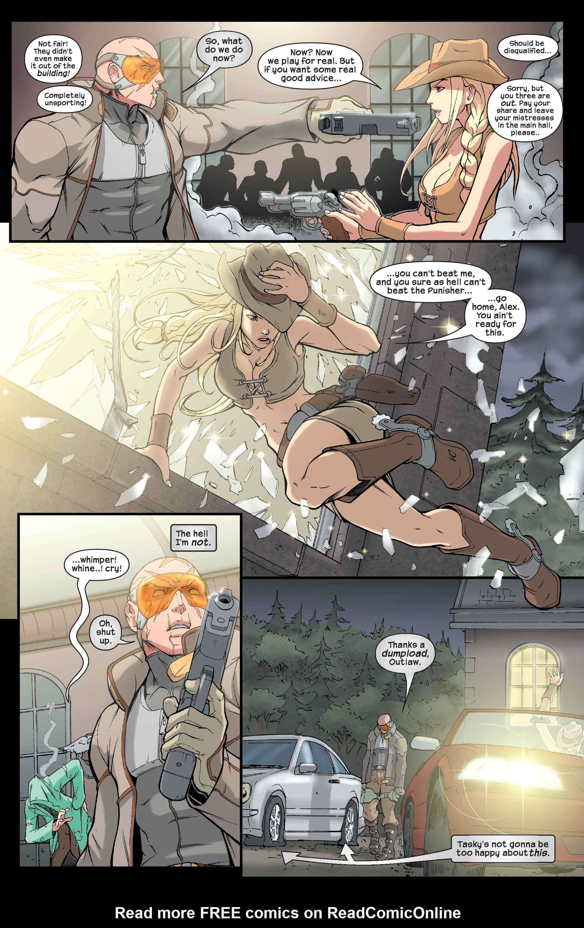 Read online Agent X comic -  Issue #2 - 11