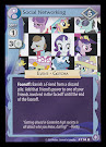 MLP Social Networking The Crystal Games CCG Card