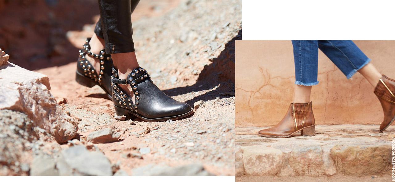 Moda invierno 2019 zapatos. Botas invierno 2019 mujer.