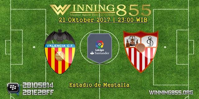 Prediksi Valencia vs Sevilla 21 Oktober 2017