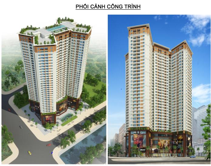 Dự án Samsora Premier qua 2 góc nhìn thấp và cao