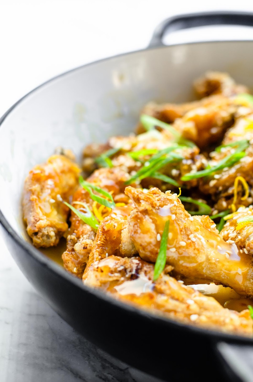 Sticky Lemon Chicken Wings image