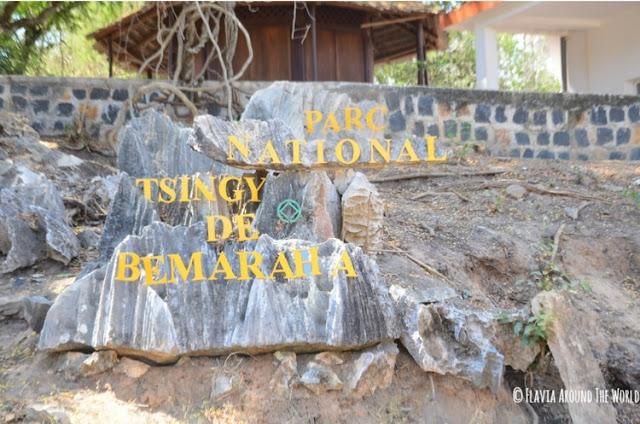 cartel parque nacional tsingy de banaraha
