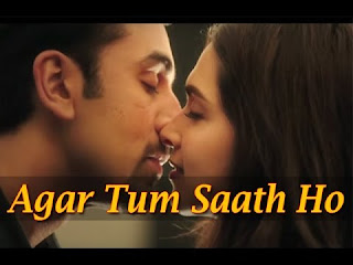 Agar Tum Saath Ho piano notes