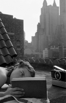 http://last-picture-show.tumblr.com/post/159336888882/lisa-larsen-reading-on-the-roof-new-york-1951