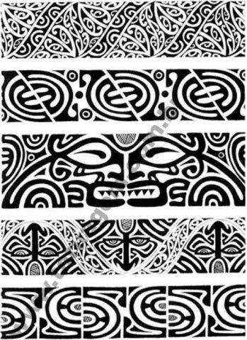 Faixas Maori Ca Modas