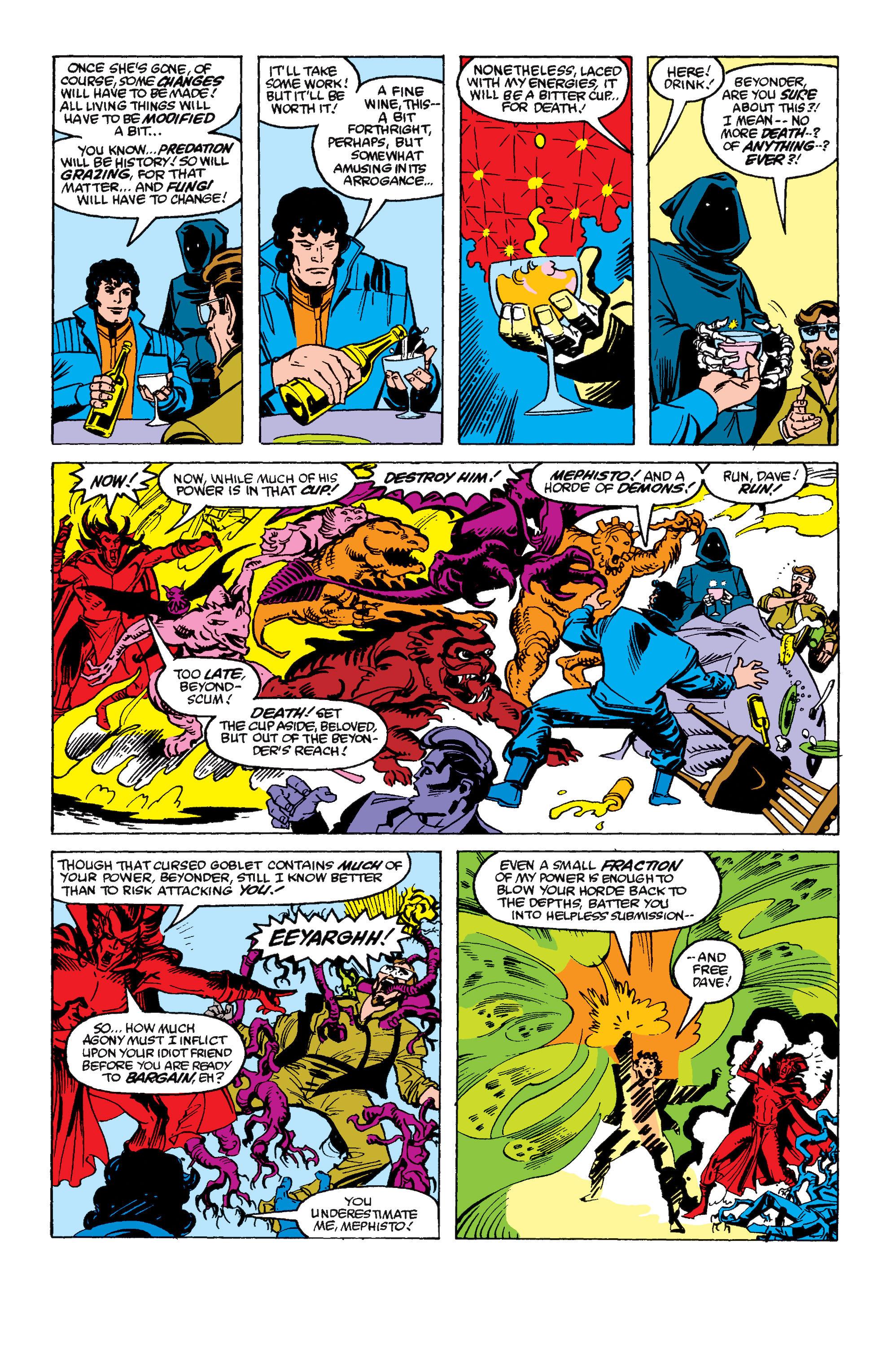 Read online Secret Wars II comic -  Issue #6 - 21
