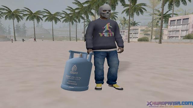 Bom Gas Elpiji 12Kg Gta San Andreas 1