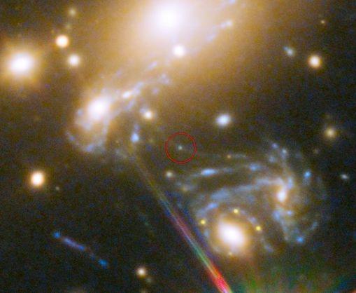 Телескоп Хаббл випадково сфотографував найдальшу від нас зірку