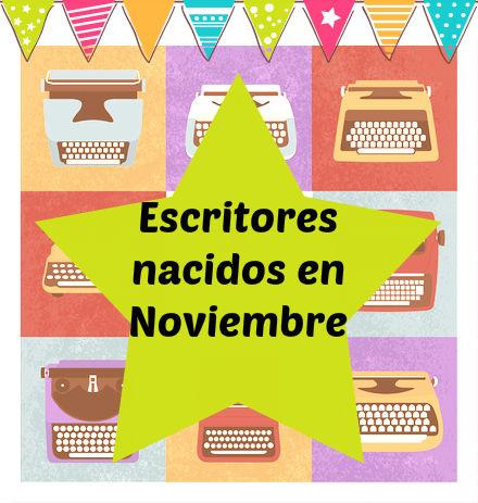 Escritores que nacieron el 16 de Noviembre