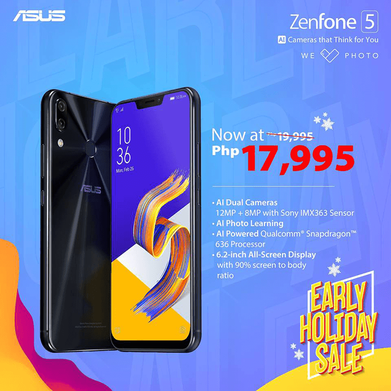 Sale Alert: ASUS announces ZenFone 5 price cut!