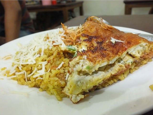 Daftar Menu Nasi Goreng Padang