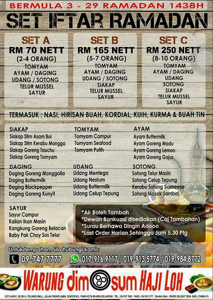 kelantan ridel hotel kb ramadhan buffet