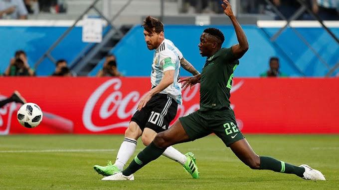 Argentina le ganó 2-1 a Nigeria y se metió en octavos