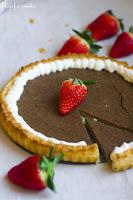 (Tarta czekoladowa z ricottą