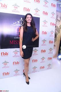 Model Shreya Kamavarapu in Short Black Dress at FBB Miss India 2017 finalists 063.JPG