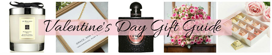 Valentine's Day Gift Guide For Her, High End Gift Guide, Jo Malone, Cinderella Jewellery, Black Opium, Appleyard London, style blog, Northern Ireland blog