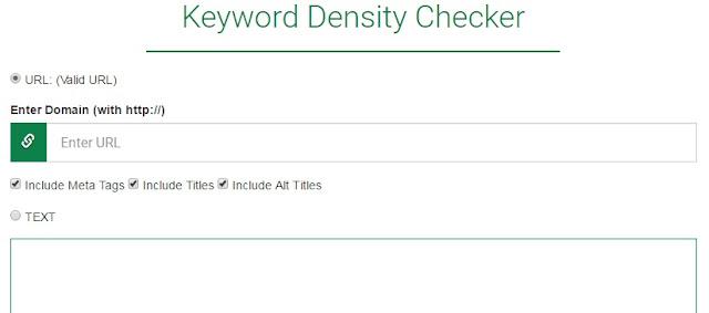 keyword density yang bagus Untuk seo