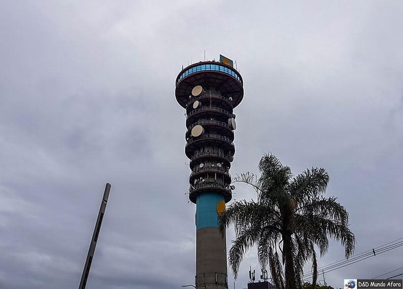 Torre panorâmica - O que fazer em Curitiba, Paraná