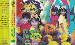 gita rizkia & chika aldjokdja album boneka barbie www.sampulkasetanak.blogspot.co.id