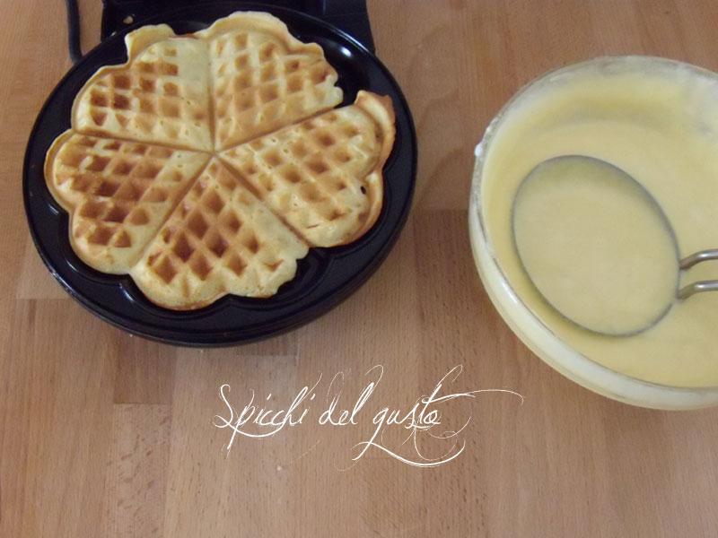 pastella per i waffle