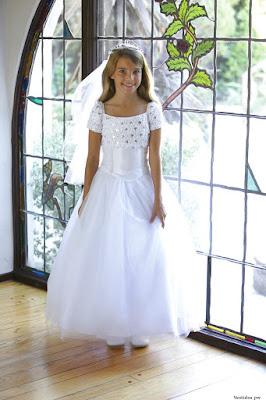 Vestidos elegantes para una comunion