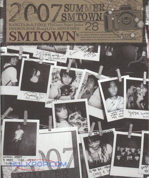 SMTOWN – 2007 Summer SMTOWN (ITUNES PLUS AAC M4A)