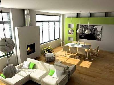 Desain Rumah Minimalis Tanpa Sekat