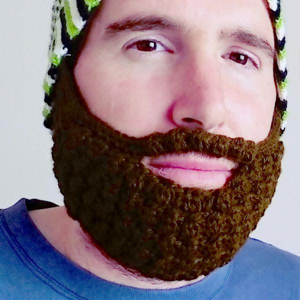 barba a crochet (todas las tallas)