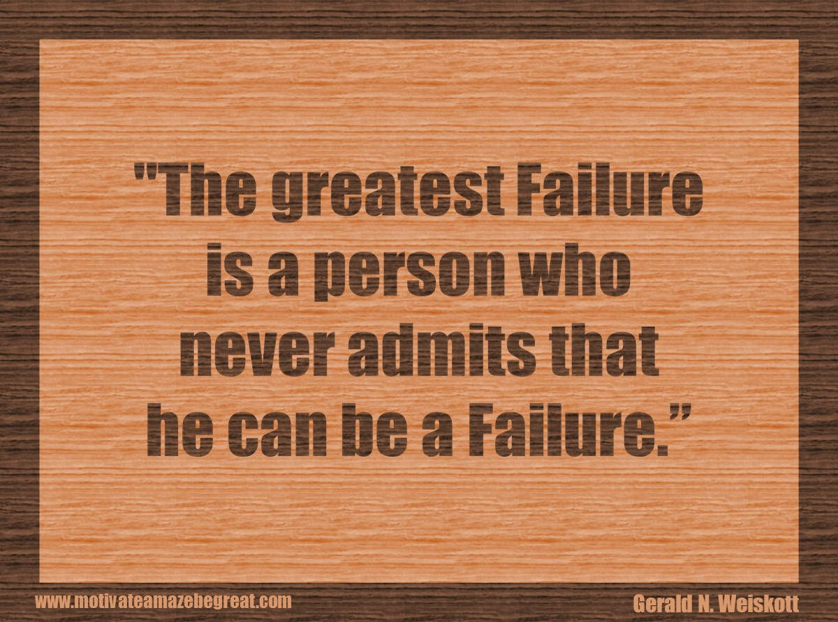 34 Self Improvement Quotes About Success And Failure How To Fail