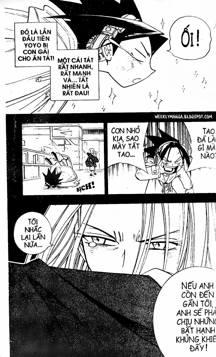 Shaman King [Vua pháp thuật] chap 167 trang 17
