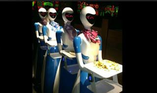 Nepal Restaurant Uses Robot As Waiters