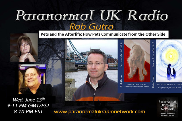 "Podcast: Rob Talks ""Pets and the Afterlife"" on UK Paranormal"