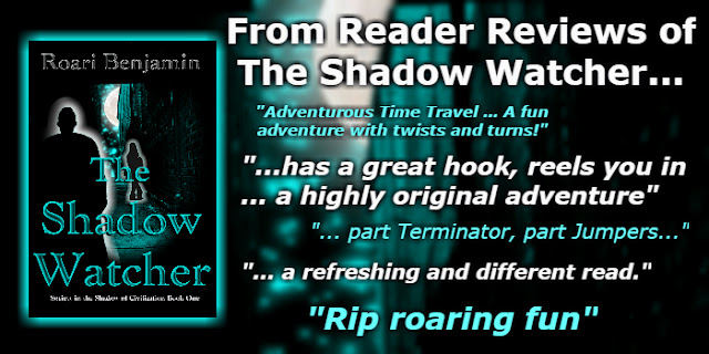 Her past was a lie. Her present is suspect. Now, The Future is coming for her…. Samantha Marquet knows she's being watched. What she doesn't understand is why. After living with the sensation for seventeen years, sometimes she wonders if it's all in her mind.  Until the night her Shadow Watcher steps across her path, turning her world upside down. Recognizing his presence immediately, Sam isn't afraid; she wants answers. But, the handsome stranger doesn't give her any in their cryptic exchange. When he vanishes again, Sam is left with more questions than ever before.  Before his motive is revealed, those the Shadow Watcher is sworn to protect Sam from move to strike. He appears again, in time to save her from a dangerous man. Only, this time Sam witnesses the attack, triggering a memory of seeing him once, before the watching began. At her father's funeral.  And, he hasn't aged a day in the seventeen years since. With enemies Sam never knew existed closing in, her guardian is forced to reveal his oath to protect the Marquet family, their heirs and the secret they've kept safe for centuries. The secret holding the key to his youth – Sam's inheritance. Something so precious, the most powerful men to live on Earth are willing to risk anything to possess it.  As those fighting to gain control of her inheritance threaten those she loves most, Sam finds herself thrown into a world her parents went to great lengths to shield her from. A world where what seems impossible today is already possible tomorrow.  Welcome to the Society in the Shadow of Civilization.