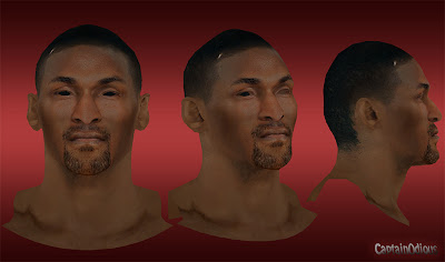 NBA 2K13 Metta World Peace Cyberface Mod