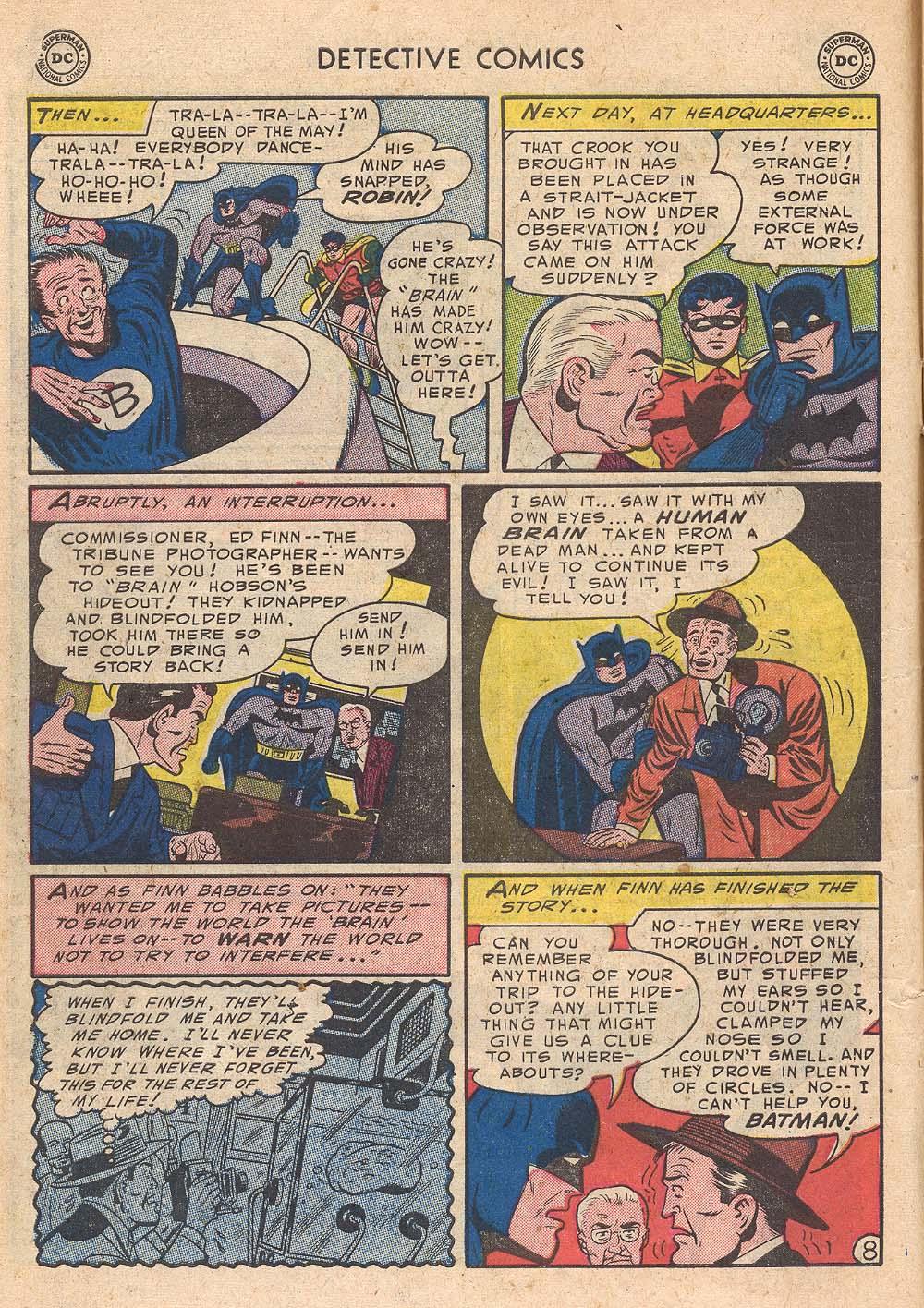 Read online Detective Comics (1937) comic -  Issue #210 - 10