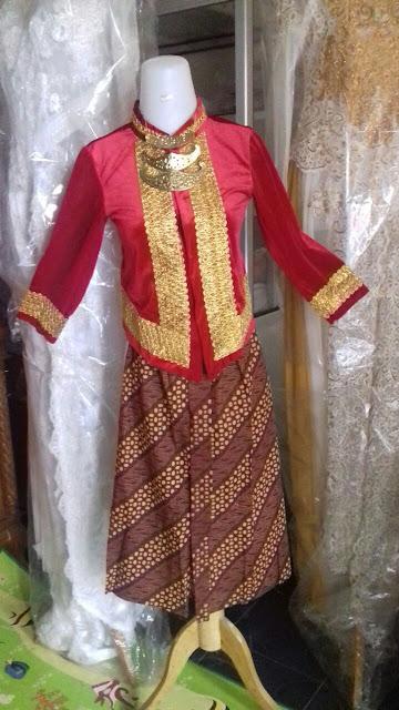 Sewa Baju Adat Jawa Anak Perempuan Di Bekasi