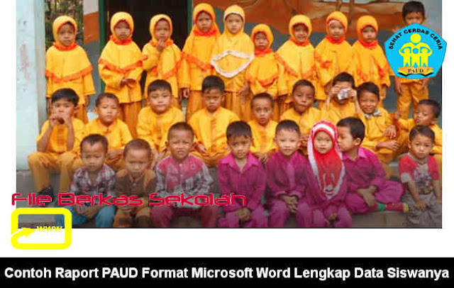 Download Contoh Raport PAUD Format Microsoft Word